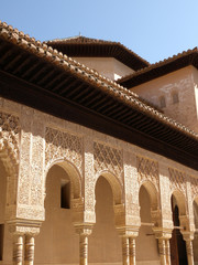 Arkaden in der Alhambra