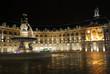 Place de la Bourse à Bordeaux de nuit