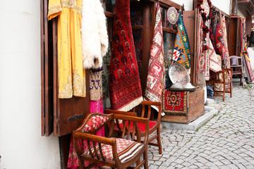 Souvenir shop in Ankara, Turkey