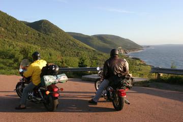 Cabot Trail, motorcyles Nova Scotia, Canada