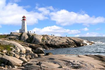 Pegg's,s Cove Lighthouse, Nova Scotia