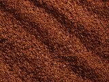 processed coffee granules poster