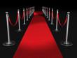 Red carpet night conept