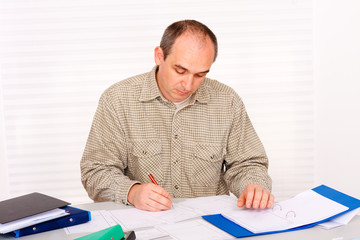 Paperwork at home