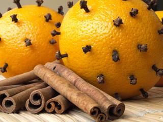 święta w pomarańczach