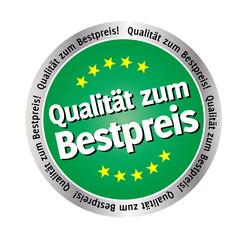 Qualitäts-Siegel Grün