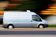 Speedy blue van