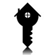 home key, vector