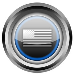 Amerika Button