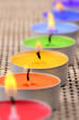 Rainbow candles II