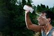 Refreshment during sport training