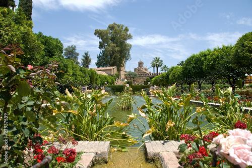 Jardines mezquita cordoba andalucia photo libre de - Jardines cordoba ...