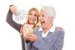 Familie sorgt für Rente vor