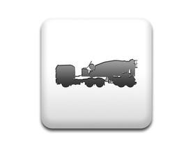 Boton cuadrado blanco camion hormigonera