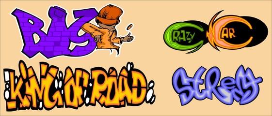 Graffiti Words.