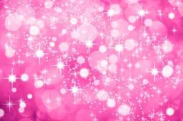 Hintergrund Pink Glitzer Sterne