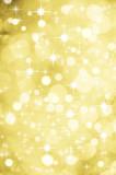 weihnachtlicher Hintergrund Gold Glitzer Sterne
