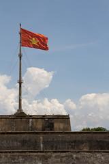 Vietnam Flag, Hue Citadel