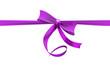 Schleife violett