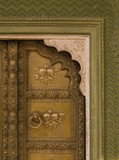 Architectural Detail Of Doorway, Jaipur, Rajasthan, India