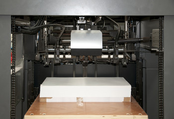 Press printing (printshop) - Offset machine