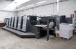 Press printing (printshopt) - Offset machine