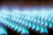 Leinwanddruck Bild - gas flames 02