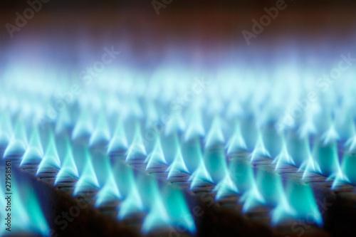 Leinwanddruck Bild gas flames 02