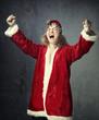 Santa is winner