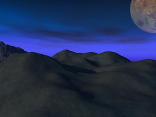 noche espacial
