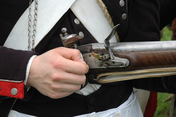 fusil de soldat de napoleon