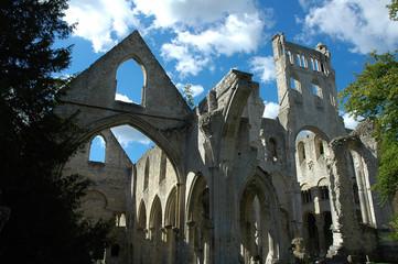abbaye de jumieges en normandie