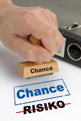 Chance Risiko