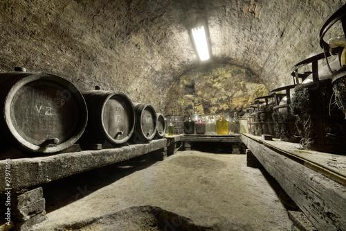 Poster wine cellar