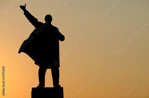Lenin-Denkmal in Ufa (Republik Baschortostan)