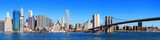 New York City Manhattan skyline panorama - 27973932