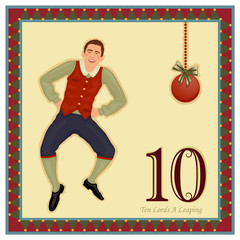 The 12 Days of Christmas - 10 Lords A Leaping