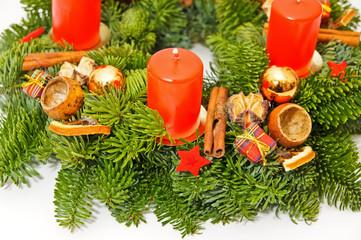 Closeup wreath