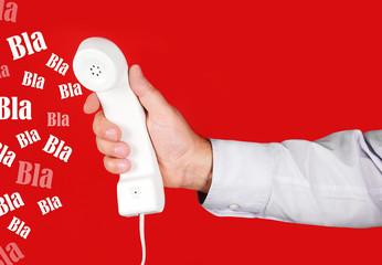 parole inutili al telefono