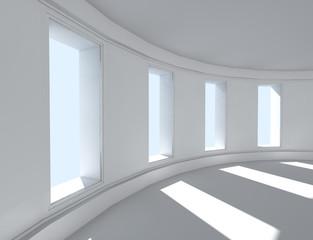 arquitectura 3d- interior vacio