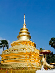 Famous golden pagoda