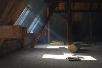 Dachboden - Ausbau - Sanierungsarbeiten