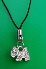 Costume jewellery from metal