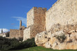 Walls of ancient Jerusalem
