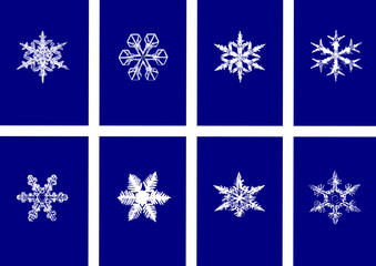 Snowflakes ,Illustrator image