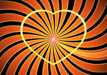 Love and The Sun Symbol