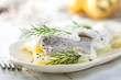 Herring salad with cream sauce for Christmas - 27992139
