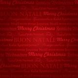 bezešvé vícejazyčné vánoční vzor (vektor)