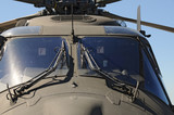 NH90 helicopter portrait
