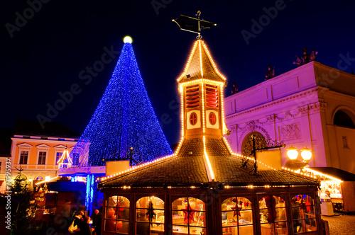 Leinwanddruck Bild Potsdam Weihnachtsmarkt - Potsdam christmas market 04